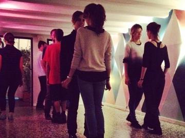 Taller de tango queer en La Federica. Barcelona, 2015.